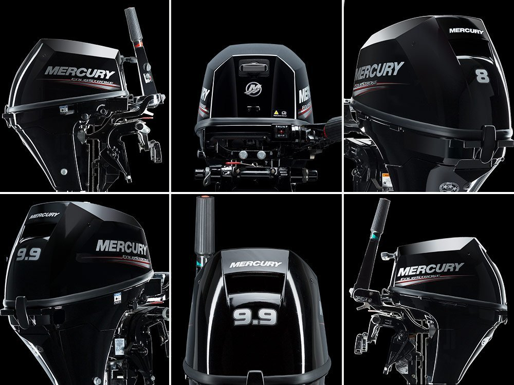 Benzīna motors MERCURY F8M