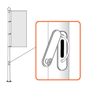 BANNER LIFT (slēdzenes) sistēma, 12m