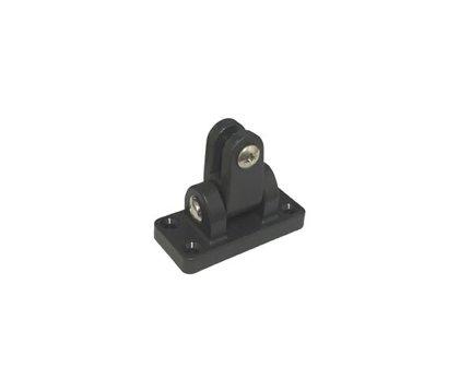 Universal hinge deck mount, nylon