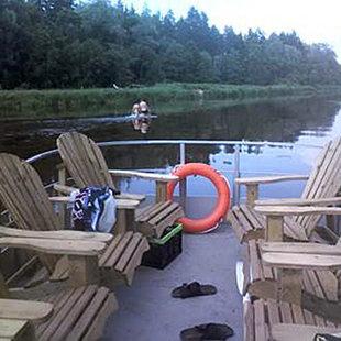 Понтонный лодка